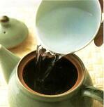 お茶の入れ方2の写真