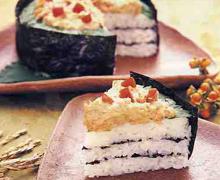押し寿司の写真