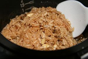 海苔佃煮炊き込みご飯